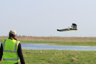 UAV over Great Fen © Dom Hinchley