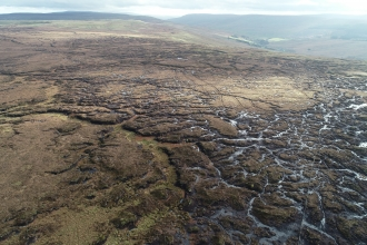 Fleet Moss from the air © Alistair Lockett