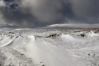 Image of Wharfedale panorama in the snow © Lyndon Marquis